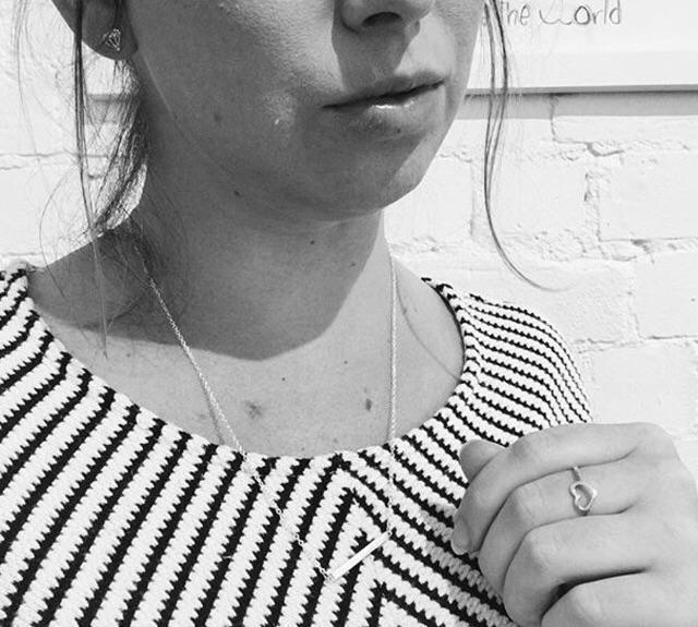 Katy B Jewellery: Rod Necklace - RoseGold image