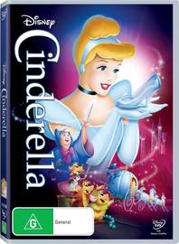 Cinderella (1950) on DVD