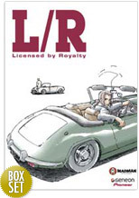 L/R Licensed By Royalty on DVD