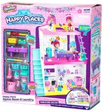 Shopkins Happy Places Extension Set: Laundry and Games Room Studio