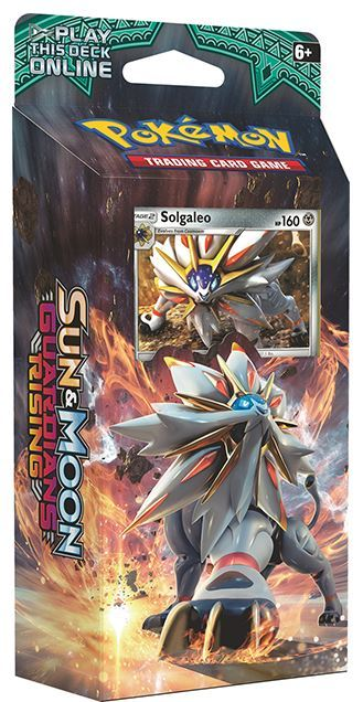 Pokemon TCG Sun & Moon Guardians Rising Theme Deck: Solgaleo