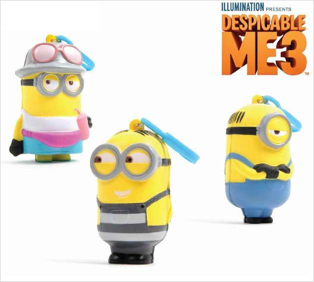 Despicable Me 3 Bag Clip