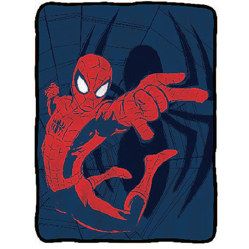 Spider-Man Swinging - Fleece Throw Blanket image