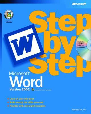 Microsoft Word 2002 Step by Step by Catapult image