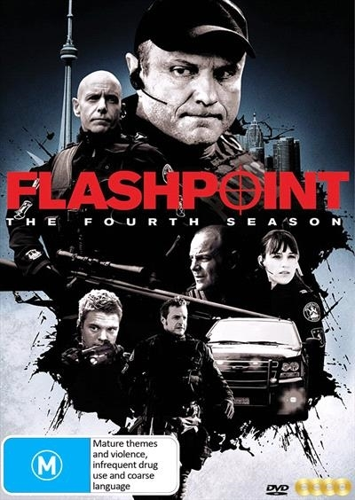 Flashpoint Season Four on DVD image