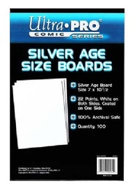 "Ultra Pro: Silver Comic Backing Boards - (7"" x 10.5"")"