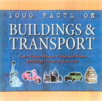 1000 Facts on Buildings and Transport by John Farndon image