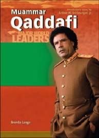 Muammar Qaddafi by Brenda Lange image