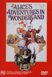 Alice's Adventure In Wonderland on DVD