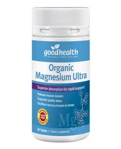 Good Health Organic Magnesium Ultra (60 Tablets) image