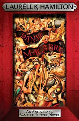 Danse Macabre (Anita Blake #14) (red frame) by Laurell K. Hamilton