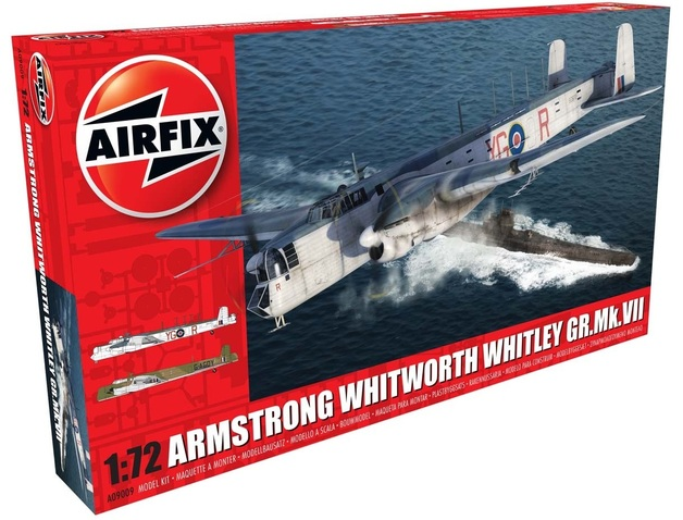 Airfix Armstrong Whitworth Whitley GR.Mk.VII 1:72 Model Kit