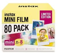 Fujifilm Instax Mini Film 80 Pack Limited Edition