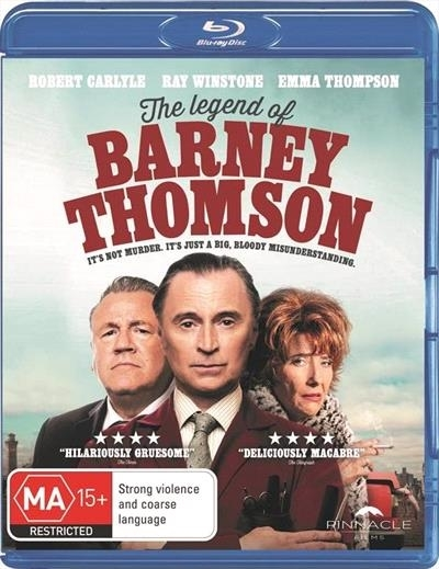 The Legend of Barney Thomson on Blu-ray image