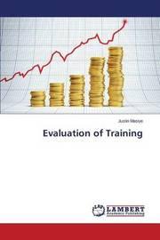 Evaluation of Training by Masiye Justin