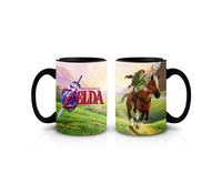 The Legend of Zelda: Coffee Mug - Link with Horse