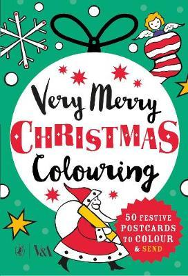 Very Merry Christmas Colouring by Puffin