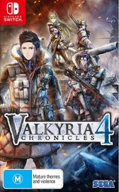 Valkyria Chronicles 4 Launch Edition for Nintendo Switch