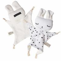 Wee Gallery: Organic Cuddle Bunny - Stars image
