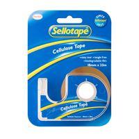 Sellotape: Cellulose Tape On Dispenser (18mmx33m)