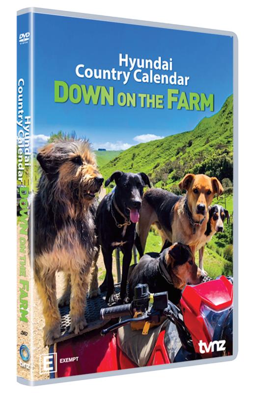 Country Calendar: 2019 - Down On The Farm on DVD