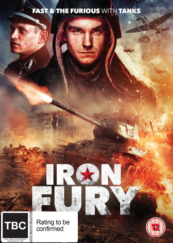 Iron Fury on DVD