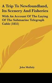 A Trip To Newfoundland, Its Scenery And Fisheries: With An Account Of The Laying Of The Submarine Telegraph Cable (1855) by John Mullaly image