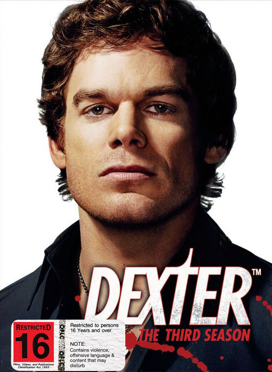 Dexter - The Third Season on DVD