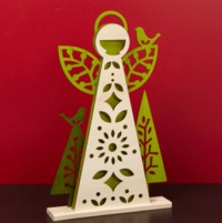 Woodland Angel Centrepiece