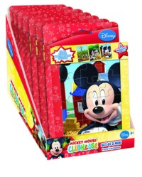 Disney Mickey Mouse Clubhouse 3 In 1 Mini Puzzles
