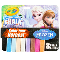 Crayola: Disney Washable Sidewalk Chalk - Frozen