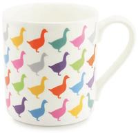 Kiwi Print Studio Mug (Kaleidoscope Geese)