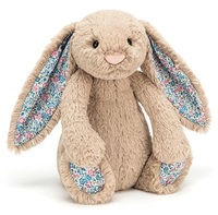 Jellycat: Blossom Bashful Beige Bunny - Medium Plush