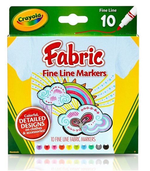 Crayola: 10 Fabric Markers image