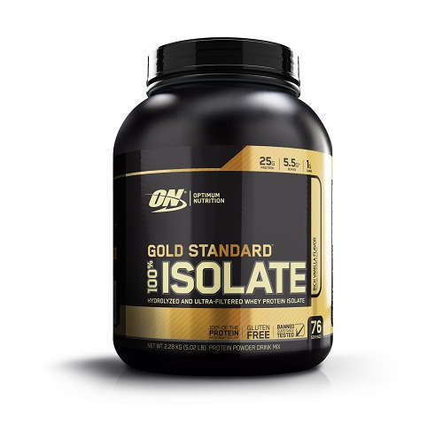 Optimum Nutrition: Gold Standard 100% Isolate - Rich Vanilla (2.28kg)