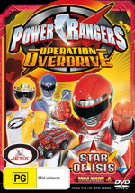 Power Rangers - Operation Overdrive: Vol. 4 - Star Of Isis on DVD
