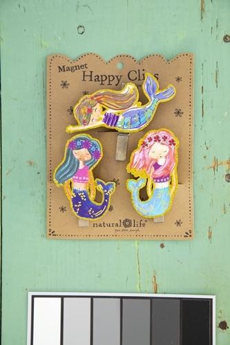 Natural Life: Magnet Chip Clip - Mermaids (Set of 3)