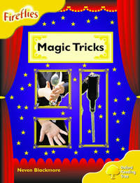 Oxford Reading Tree: Stage 5: Fireflies: Magic Tricks by Neven Blackmore image