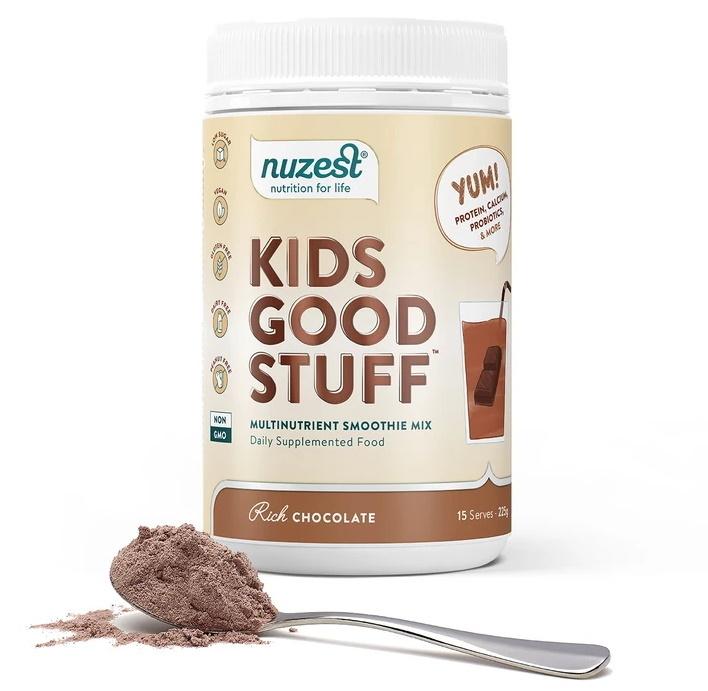 Nuzest Kids Good Stuff Rich Chocolate Smoothie Mix (225g) image