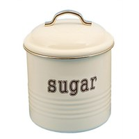 Sugar Canister - White