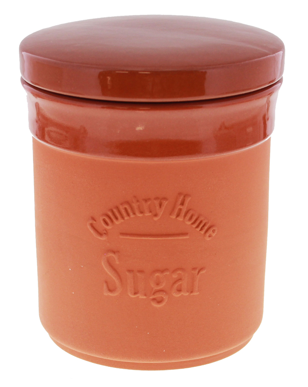 Terracotta Sugar Canister