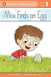 Max Finds An Egg by Bonnie Bader image