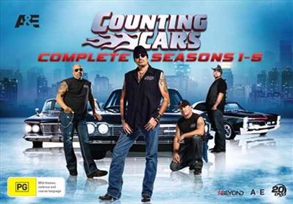 Counting Cars - Seasons 1-5 (Complete Collection) on DVD image