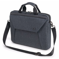"Dicota Slim Case EDGE Carry Bag with shoulder strap for 12.1"" - 13.3"" Notebook /Laptop (Blue Denim)"