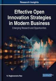 Effective Open Innovation Strategies in Modern Business by N. Raghavendra Rao image