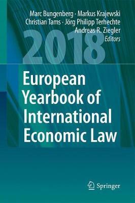 European Yearbook of International Economic Law 2018 image