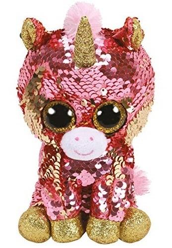 Ty Flippables: Sunset Unicorn - Small Plush