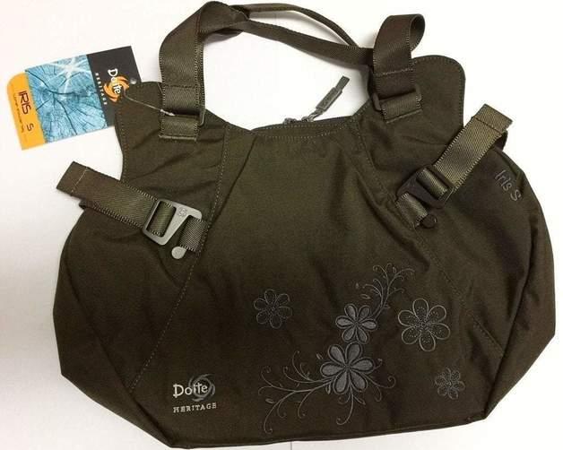 Doite Iris Shoulder Bag - Small (Brown)