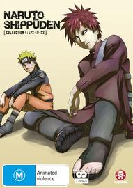 Naruto Shippuden - Collection 04 (Eps 40-52) on DVD