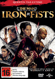 The Man with the Iron Fists on DVD